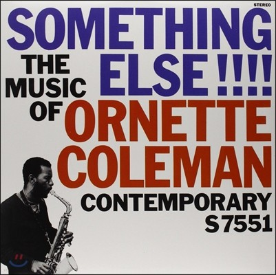 Ornette Coleman (오넷 콜맨) - Something Else!!: The Music Of Ornette Coleman [LP]