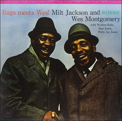 Milt Jackson & Wes Montgomery (밀트 잭슨, 웨스 몽고메리) - Bags Meets Wes! [LP]