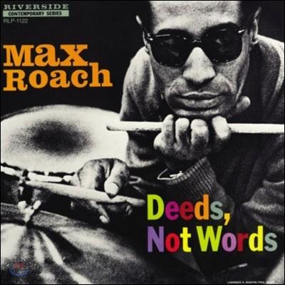 Max Roach Quintet (맥스 로치 퀸텟) - Deeds, Not Words [LP]