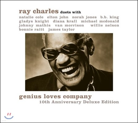 Ray Charles (레이 찰스) - Duets With: Genius Loves Company 10Th Anniversary Deluxe Editions [2LP]