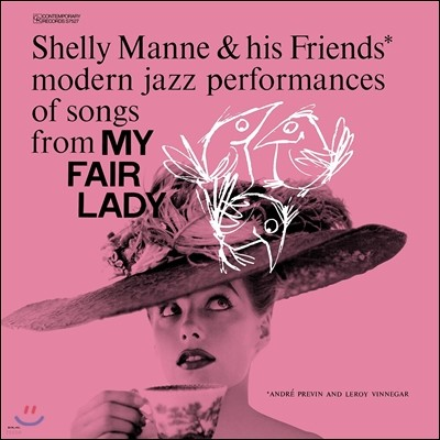 Shelly Manne & His Friends (쉘리 맨 & 히즈 프렌즈) - Modern Jazz Performances of Songs From My Fair Lady (마이 페어 레이디) [LP]