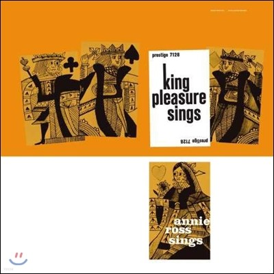 King Pleasure / Annie Ross (킹 플레저, 애니 로스) - King Pleasure Sings / Annie Ross Sings [LP]