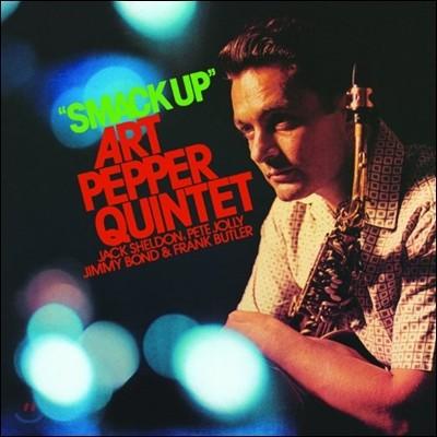 Art Pepper Quintet (아트 페퍼 퀸텟) - Smack Up [LP]