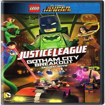 LEGO DC Super Heroes: Justice League: Gotham City Breakout (레고 저스티스리그 : 고담시티 브레이크아웃)(지역코드1)(한글무자막)(DVD)