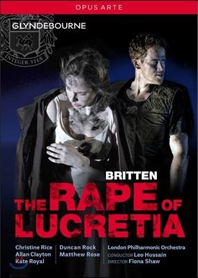Christine Rice / Leo Hussain 벤자민 브리튼: 루크레티아의 능욕 (Benjamin Britten: The Rape of Lucretia) 크리스틴 라이스, 레오 후세인