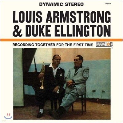 Louis Armstrong & Duke Ellington (루이 암스트롱, 듀크 엘링턴) - LouisTogether For The First Time [LP]