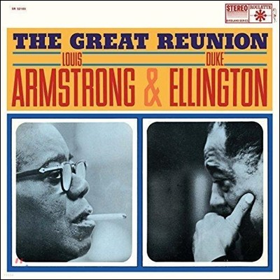 Louis Armstrong & Duke Ellington (루이 암스트롱, 듀크 엘링턴) - Louis The Great Reunion [LP]