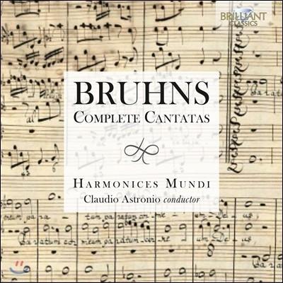 Harmonices Mundi 니콜라우스 브룬스: 칸타타 전곡 (Nicolaus Bruhns: Complete Cantatas) 앙상블 하르모니체스 문디, 클라우디오 아스트로니오