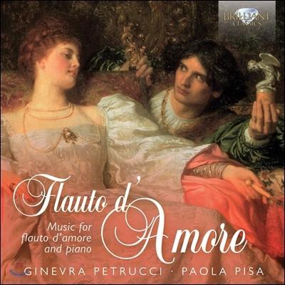Ginevra Petrucci 플루트 다모르 편곡 작품집 (Flauto D'Amore: Music for Flute d'Amore & Piano) 지네브라 페투치, 파올로 피사