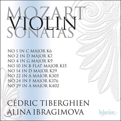 Alina Ibragimova 모차르트: 바이올린 소나타 2집 - 알리나 이브라기모바 (Mozart: Violin Sonatas Vol.2 - K6, 7, 9, 15, 29, 305, 376, 402)