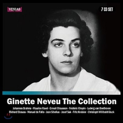 Ginette Neveu 지네트 느뵈 컬렉션 녹음집 (The Collection 1938-1949 Recordings)