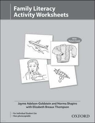 Family Literacy Activity Worksheets