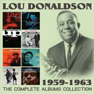 Lou Donaldson - Complete Albums Collection: 1959-1963 (Remastered)(4CD Set)