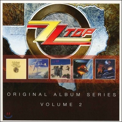 ZZ Top (지지 탑) - Original Album Series Vol.2