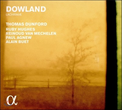 Paul Agnew / Thomas Dunford 존 다울랜드: 라크리메 (John Dowland: Lachrimae) 폴 애그뉴, 토마스 던포드