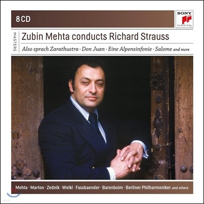 Zubin Mehta 주빈 메타가 지휘하는 리하르트 슈트라우스: 차라투스트라는 이렇게 말했다, 알프스 교향곡 외 (Conducts Richard Strauss)