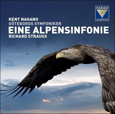 Kent Nagano 슈트라우스: 알프스 교향곡 - 켄트 나가노, 예테보리 심포니 (R. Strauss: Eine Alpensinfonie, Op.64) [LP]