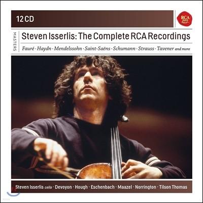 Steven Isserlis 스티븐 이셜리스 RCA 레코딩 전집 (The Complete RCA Recordings)