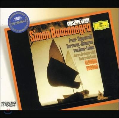 Claudio Abbado 베르디: 시몬 보카네그라 (Verdi: Simon Boccanegra)