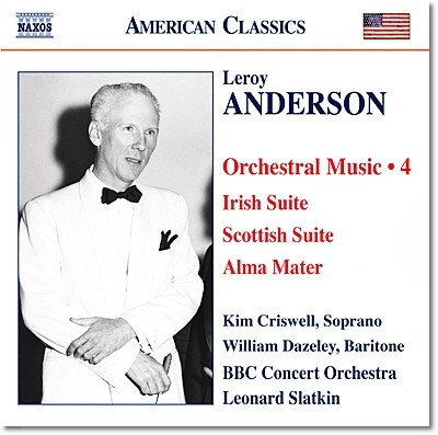 Leonard Slatkin 앤더슨: 아일랜드 모음곡, 스코틀랜드 모음곡, 여름 하늘 (Leroy Anderson: Orchestral Works Volume 4)