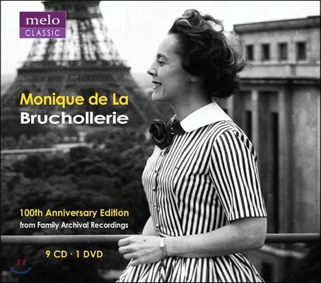 Monique de La Bruchollerie 모니크 드 라 브루쇼르리 100주년 기념 에디션 박스세트 (100Th Anniversay Edition) [9CD+1DVD]