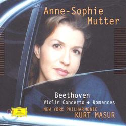 Beethoven : Violin ConcertoㆍRomances : MutterㆍNew York PhilharmonicㆍMasur