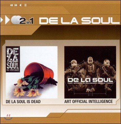 De La Soul - De La Soul Is Dead + Art Official Intelligence (2CD Special Price)