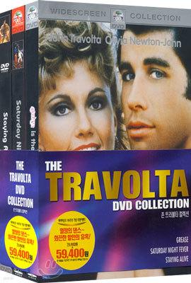 존 트라볼타 컬렉션 The Travolta DVD Collection (그리스 + 토요일 밤의 열기 + 스테잉 얼라이브)