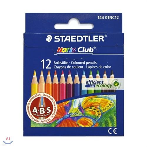 [알앤비]스테들러 미니 색연필 12색세트 144 01NC12