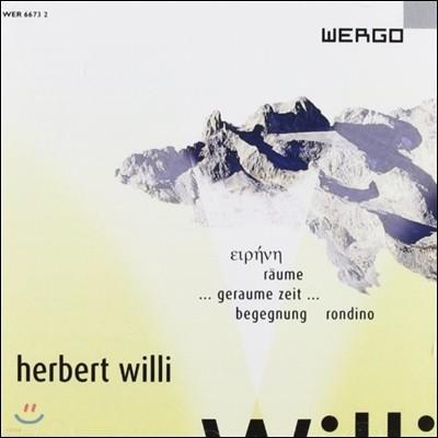 Michael Stern 헤르베르트 빌리: 트럼펫 협주곡 '아이렌', 플루트와 오보에를 위한 협주곡 외 (Herbert Willi: Orchestral Works)