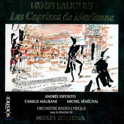 Manuel Rosenthal 앙리 소게: 오페라 코미크 '마리안의 변덕' (Henri Sauguet: Les Caprices De Marianne)