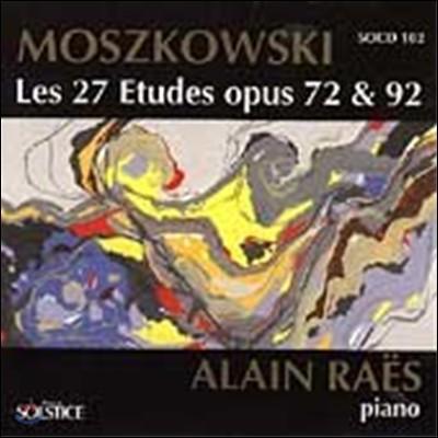 Alain Raes 모리츠 모슈코프스키: 27곡의 연습곡 전곡 (Moritz Moszkowski: The Complete 27 Piano Etudes)