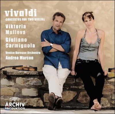 비발디 : 두 대의 바이올린을 위한 협주곡 - 빅토리아 뮬로바, 줄리아노 카르미뇰라