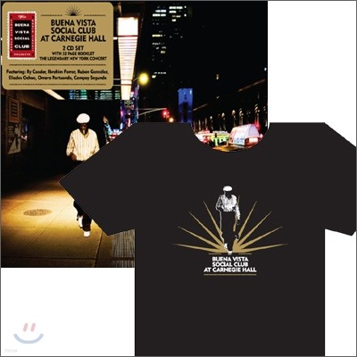 Buena Vista Social Club - Buena Vista Social Club at Carnegie Hall (X-Large Sized 티셔츠 포함 한정반)