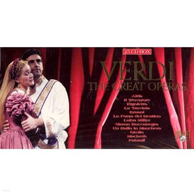 베르디 : 위대한 오페라들 (Verdi : The Great Operas) 25CD