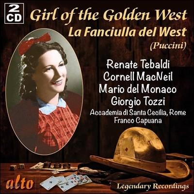 Renata Tebaldi / Mario del Monaco 푸치니: 오페라 '서부의 아가씨' (Puccini: La Fanciulla del West) 레나타 테발디, 마리오 델 모나코