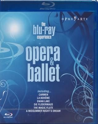 오페라 & 발레 하이라이트 모음집 블루레이 (Opera & Ballet Blu-ray Sampler)