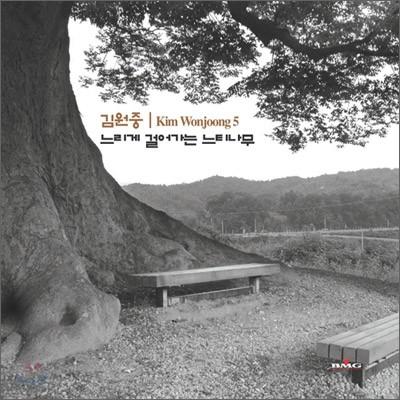 김원중 5집앨범 - 느리게 걸어가는 느티나무