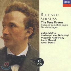 Strauss : The Tone Poems : MehtaㆍDohnanyiㆍAshkenazyㆍMaazelㆍDorati