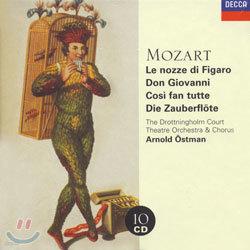 Mozart : Le Nozze Di FigaroㆍDon GiovanniㆍCosi Fan TutteㆍDie Zauberflote : Ostman