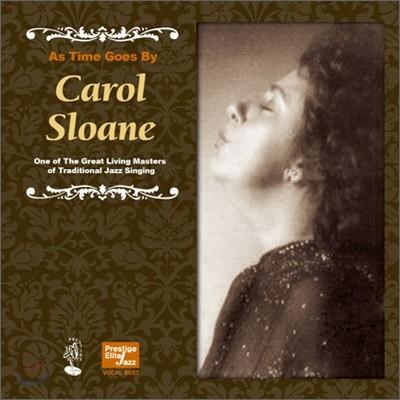 Carol Sloane - As Time Goes By (Prestige Elite Jazz Vocal Best Series)