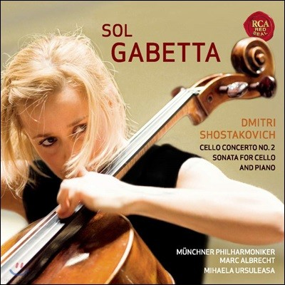 Sol Gabetta 쇼스타코비치: 첼로 협주곡 2번, 소나타 (Shostakovich: Concerto for Violoncello No. 2, Sonata Op. 40) 솔 가베타