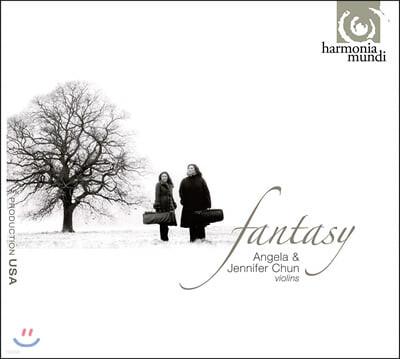 Angela Chun / Jennifer Chun 20세기 바이올린 듀오 작품집 (Fantasy)