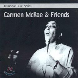 Immortal Jazz Series - Carmen McRae & Friends (카르멘 멕레이 & 프렌즈)