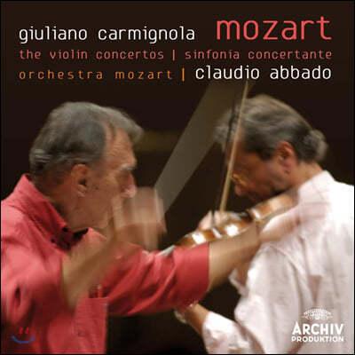 Giuliano Carmignola 모차르트: 바이올린 협주곡집 (Mozart: Violin Concertos)