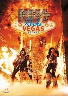 Kiss (키스) - Rocks Vegas: Live At The Hard Rock Hotel (락스 베가스: 하드 락 호텔 라이브) [DVD]