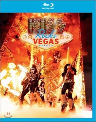 Kiss (키스) - Rocks Vegas: Live At The Hard Rock Hotel (락스 베가스: 하드 락 호텔 라이브) [Blu-Ray]