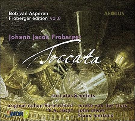 Bob van Asperen 프로베르거 에디션 8집: 토카타, 모테트 외 (Johann Jacob Froberger Edition Vol.8: Toccatas & Motets) 밥 판 아스페렌