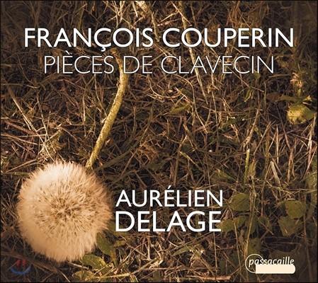 Aurelien Delage 쿠프랭: 하프시코드[클라브생] 작품집 (Francois Couperin: Pieces de Clavecin [Harpsichord Works])오렐리앙 들라주