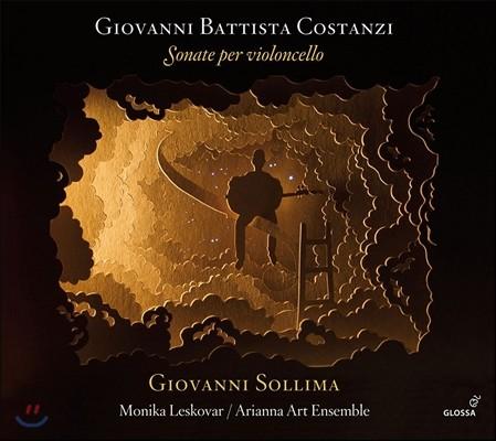 Giovanni Sollima 조반니 바티스타 코스탄치: 첼로 소나타집 (Giovanni Battista Costanzi: Cello Sonatas) 조반니 솔리마, 아리안나 아트 앙상블